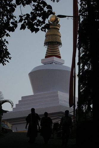 The famous stupa at Do-Drul Chorten, Deorali, Gangtok