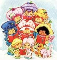 Strawberry Shortcake and friends @ Toy-Addict.com // wonderful stuff!