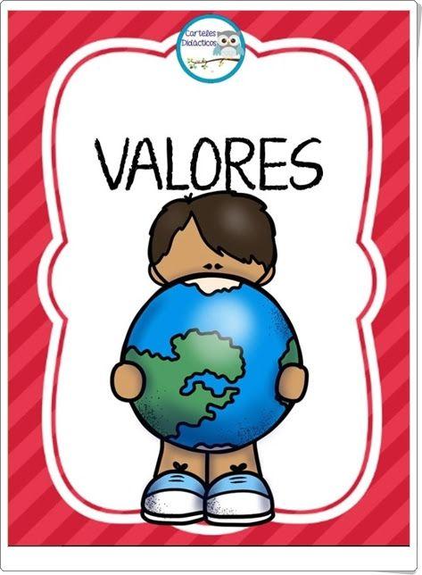 """""""Tarjetas de Valores"""" (Educación para la Convivencia de Primaria)"""