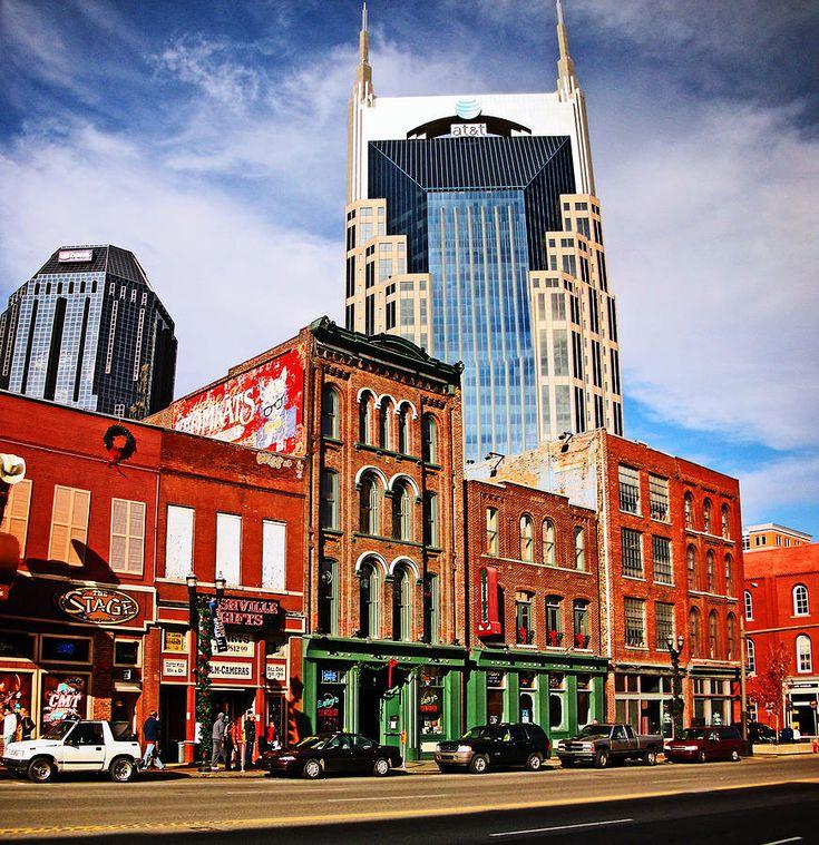 ✯ The Bat Building  - Nashville, TN