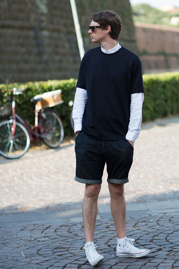 Thanks Sartorialist for a pic of a man with some great casual fashion. #LaBelleAgency