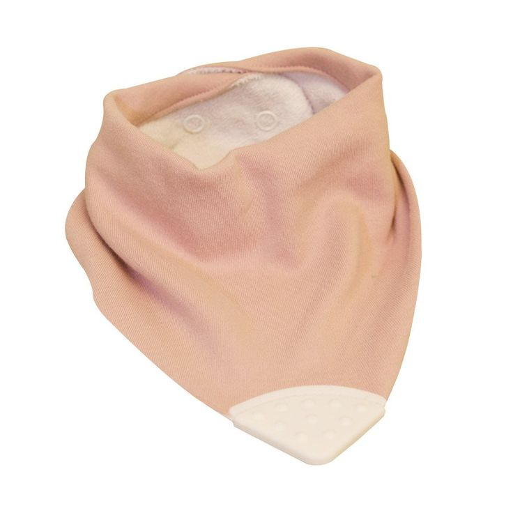 Teether Bib - Pink - Clothing - Baby Belle