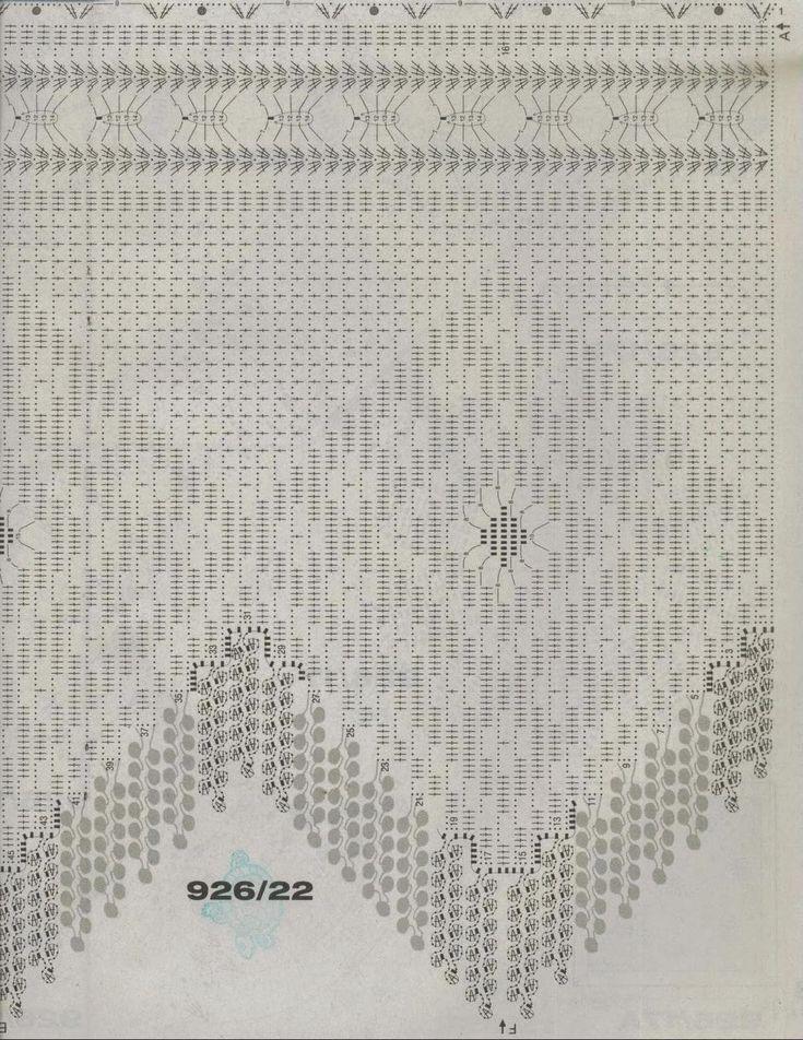 44 best Gardinen häkeln, stricken images on Pinterest Cortinas - conduit fill chart