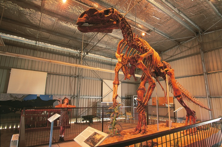 Get the kids digging for dinosaur fossils in Outback Queensland.
