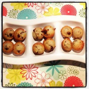 Banana Chocolate Chip Muffins in Thermomix