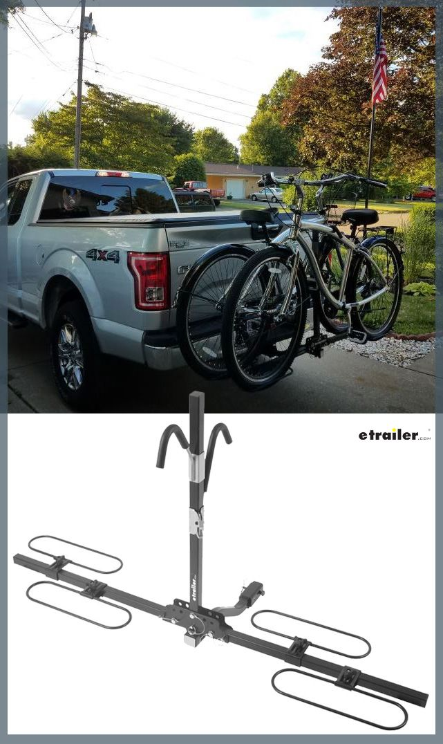 Swagman Xc 2 Bike Rack Platform Style For 1 1 4 And 2 Trailer