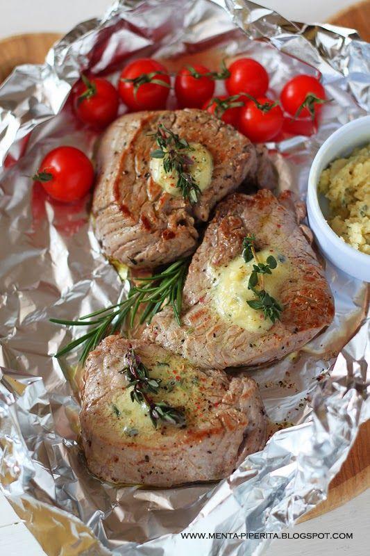 Menta Piperita and Co.: Filetto con burro alla senape di Digione ed erbe aromatiche