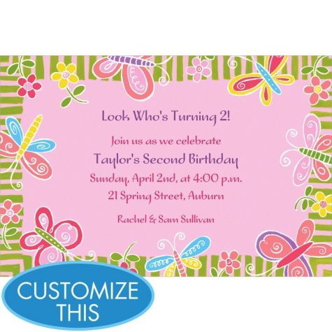 86 best Campbell b day images – Party City Birthday Invitations