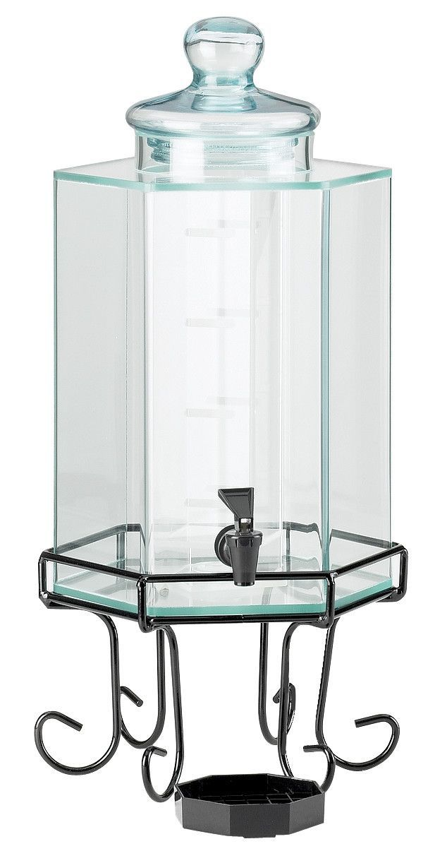 glacier faux beverage dispenser - Beverage Dispenser With Stand