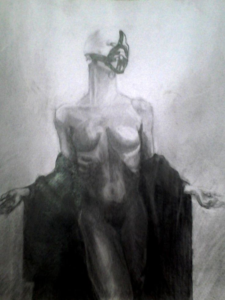 Dibujo con referencia fotografica por Mauricio  pinilla