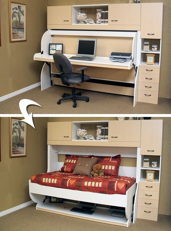 The Desk Bed