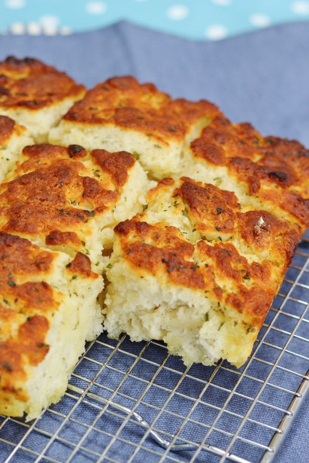 Garlic and Herb Butter Quick Bread #SecretRecipeClub #CookOnceEatTwice
