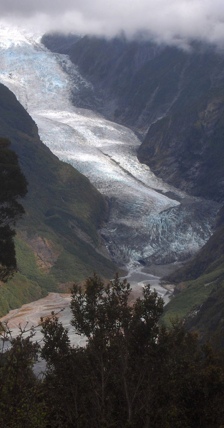 Franz Jozef Glacier, South Island, New Zealand