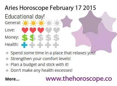 Educational day for #Aries on Feb 17th #horoscope ... http://www.thehoroscope.co/horoscope/Aries-Horoscope-today-February-17-2015-2273.html