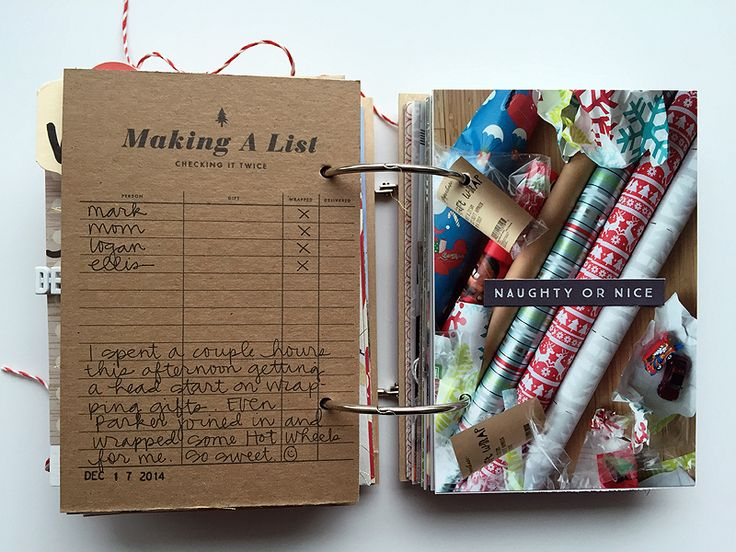 Nicole Reaves' amazing December Daily mini