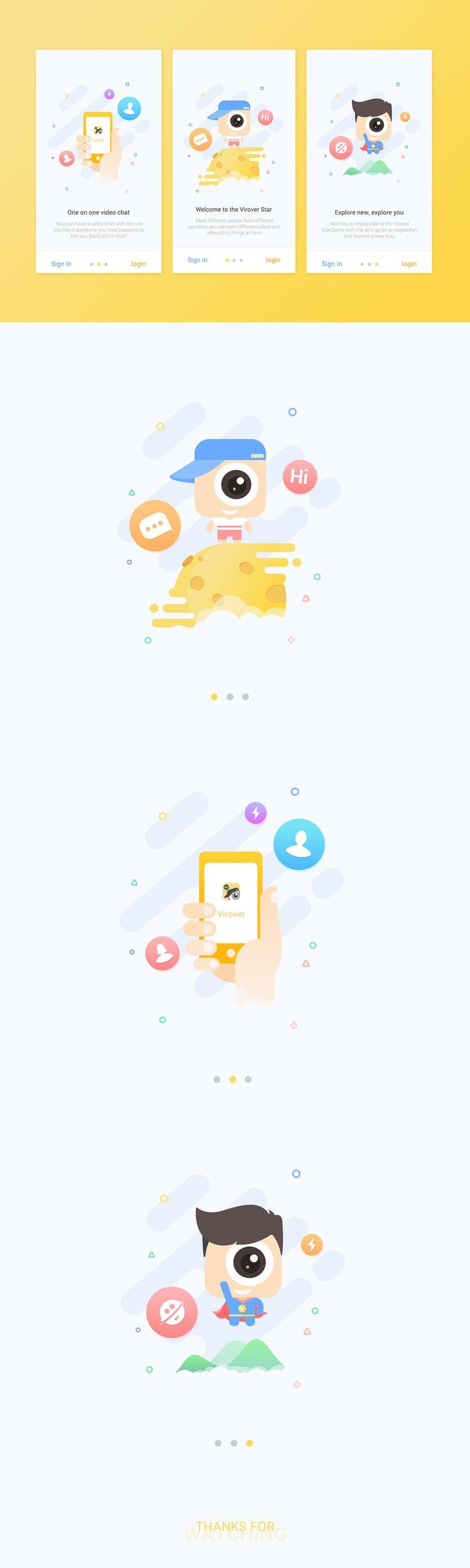 Virirover App Guide Design on Behance