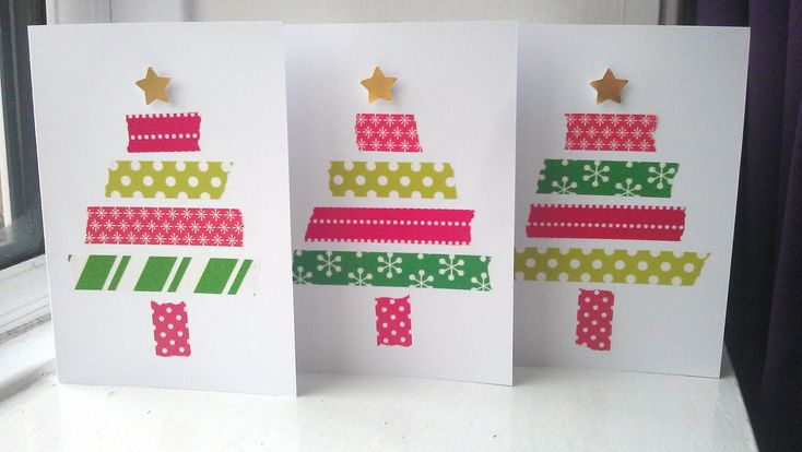 My Darlings And Me: Christmas Craft: My Hand Made Cards... Like the idea of using scraps. Will make mine a little more detailed :) ~£