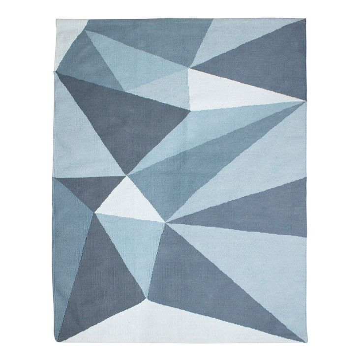 Sebra+Woven+Floor+Mat+-+Pastel+Blue+-+Pastel+blue+geometric+woven+floor+rug. Channel+cool+Scandic+style+into+the+heart+of+your+children's+interior+with+the+Sebra+Woven+Floor+Mat+-+Pastel+Blue. A+lovely+way+to+add+texture+to+neutral+interiors,+this+striking+floor+mat+features+a+geometric+pattern+of+pastel+blue+and+grey+tones. Exuding+the+chic+simplicity+of+Scandic+style,+it+is+gorgeously+woven+by+skilled+artisans+in+100%+cotton. Created+by+Danish+children's+design+house,+Sebra,+it+is+part...