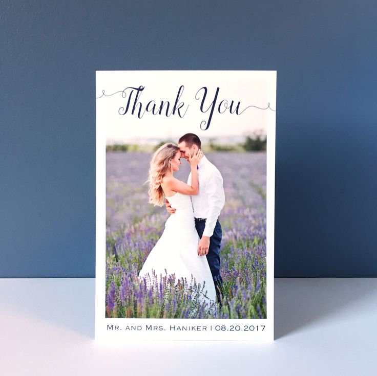 61 best Thank You Cards images – When to Send out Wedding Thank You Cards