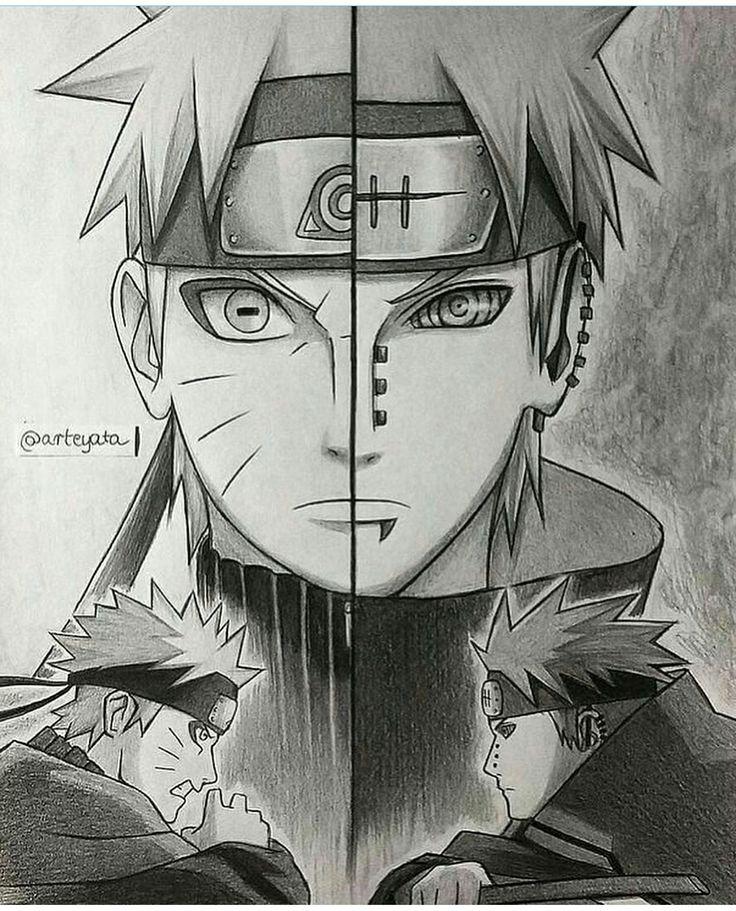 Naruto & Nagato The sibling disciple Credits arteyata