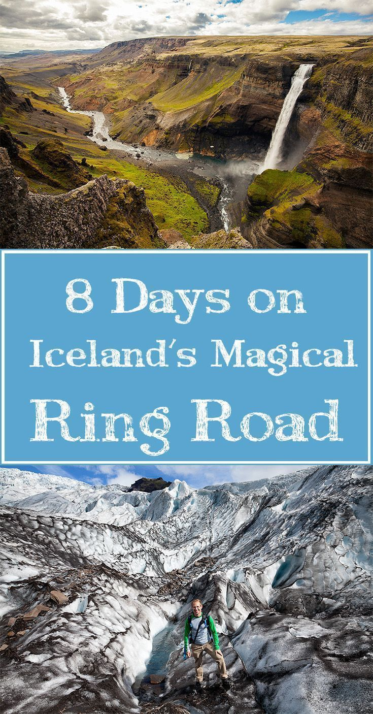 An Iceland road trip itinerary: Driving around the Iceland Ring Road in 8 Days. Click through for lots of great travel tips.
