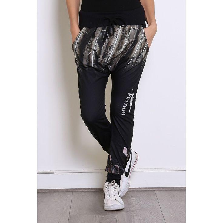pantalon sport pour femmes noir blanc pantalon sport. Black Bedroom Furniture Sets. Home Design Ideas