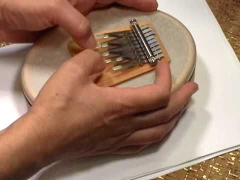 Heavenly A Sansula. A kalimba - an african instrument adapted here to create wondrous sounds. At www.youtube.com