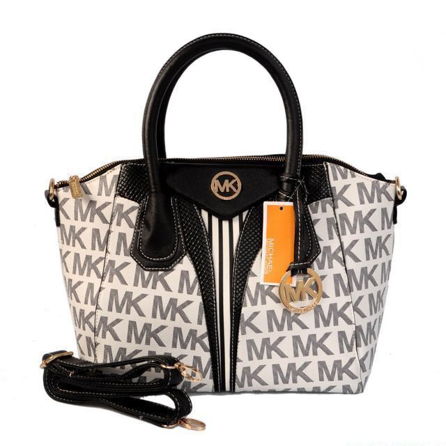 factory bags outlet daa5  Michael Kors Logo Signature Large Grey Totes Outlet