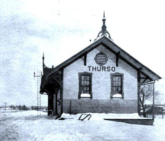Thurso, Quebec where Guy Lafleur, five-time Stanley Cup winner, was born