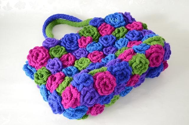my new crochet bag