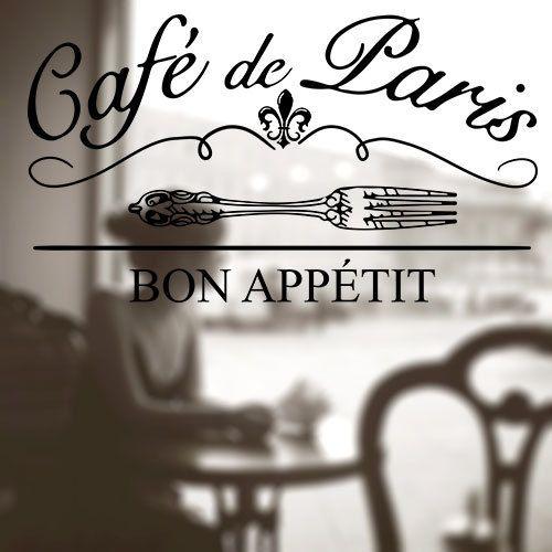 Paris Kitchen Decor Signs