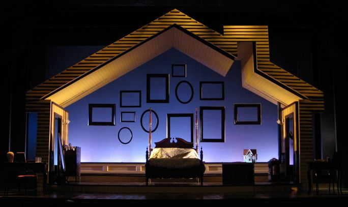 """I Do! I Do!"" Set design"