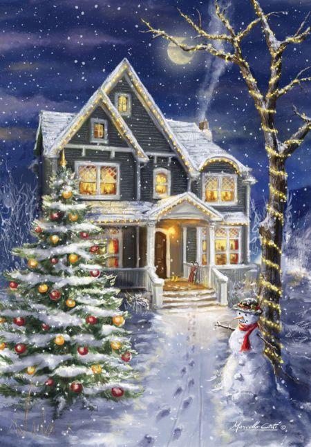 Marcello Corti - Winter-house                                                                                                                                                                                 More