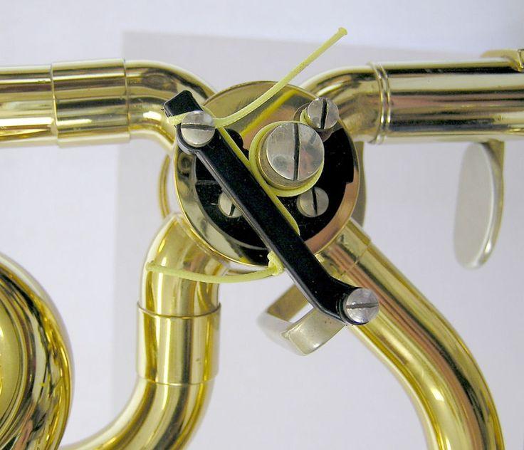 Quartventildrücker Kunststoffstange, Pivot Rod, King Posaune Trombone original