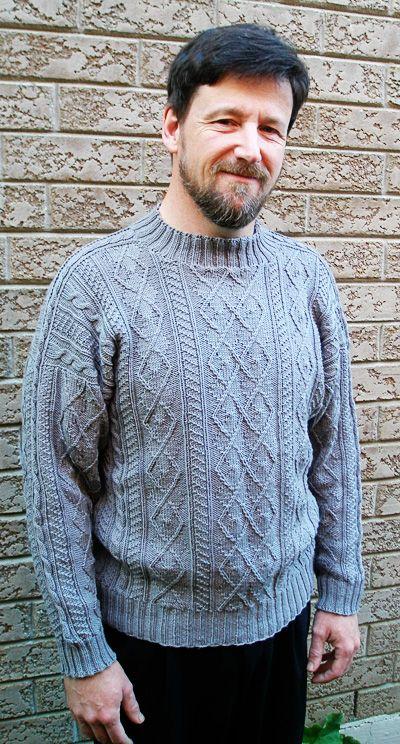 Arguyle gansey pullover: First Fall 2013
