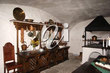 Royalty Free Photo of a Kitchen Basement