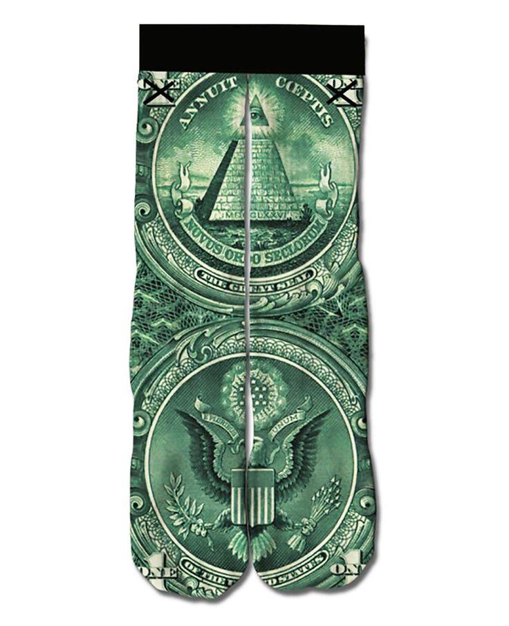 Dollar Bill Socks