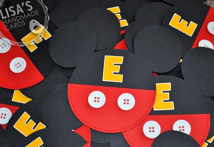 Convite Festa Infantil Mickey