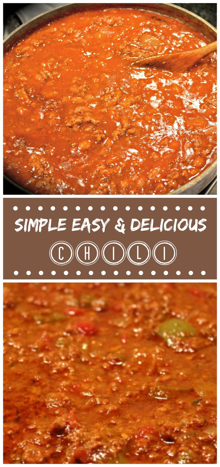 If you don't have all day to make chili with 897 ingredients, then this is your recipe!  Simple, Easy, Delicious and fills your tummy!  #glutenfree #dairyfree #paleo #cleaneating #chili