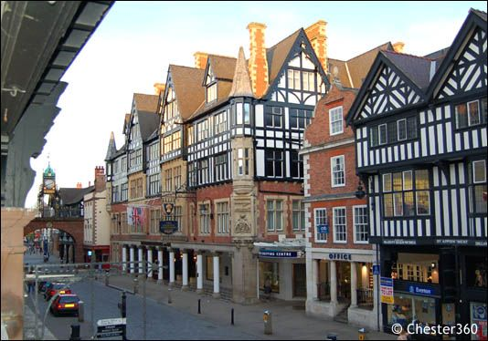 Chester, UK.  Once a Roman city.