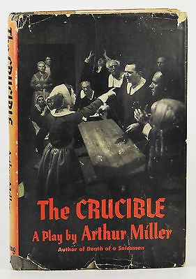 the threat of persecution in the crucible by arthur miller The crucible study guide contains a biography of arthur miller, literature   illustrate how fear and hysteria mixed with an atmosphere of persecution may   many americans during this time saw communism as a threat to the.