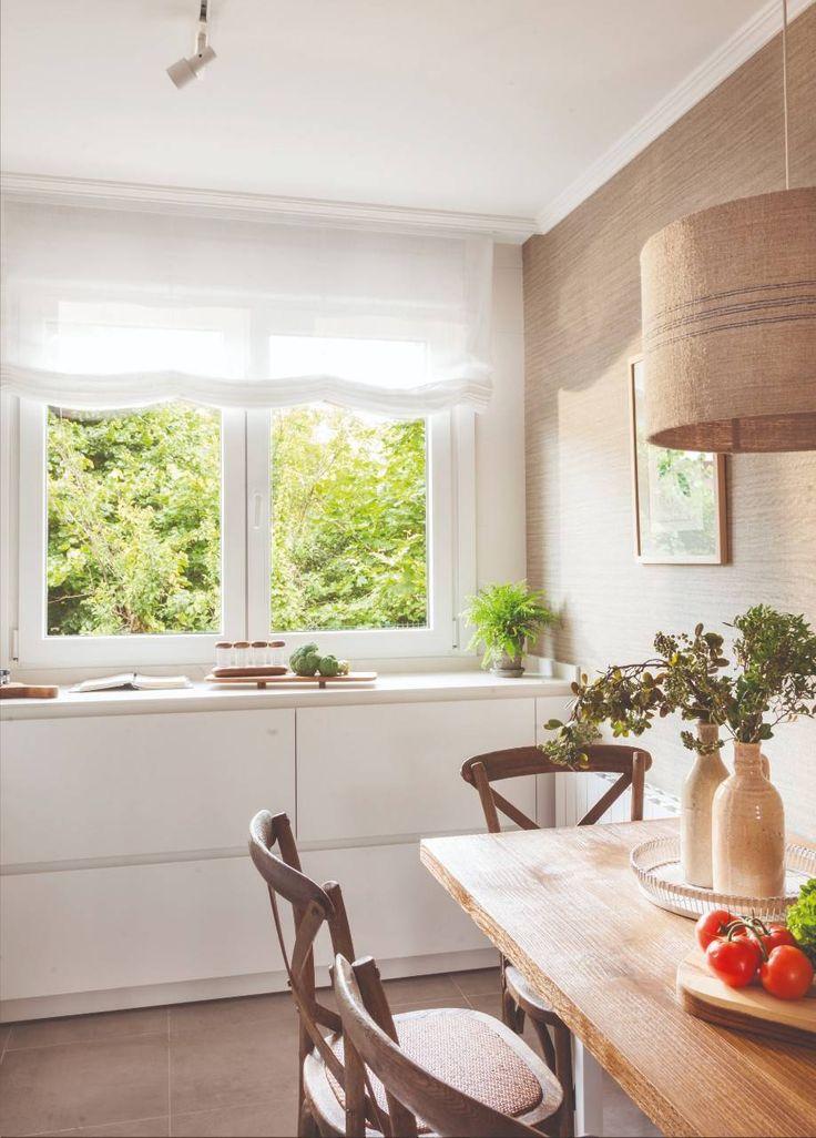 El Office Pone El Toque Calido Mobiliario De Cocina Decoraciones De Casa Mueble Bajo