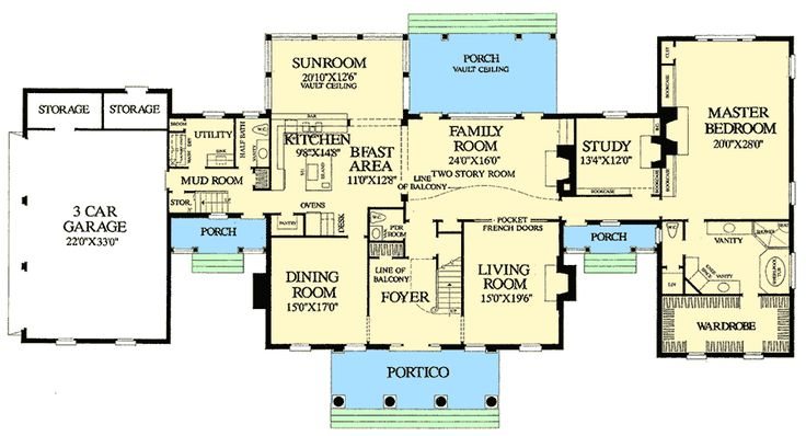 438 best moderate sized home plans images on pinterest for Moderate house plans