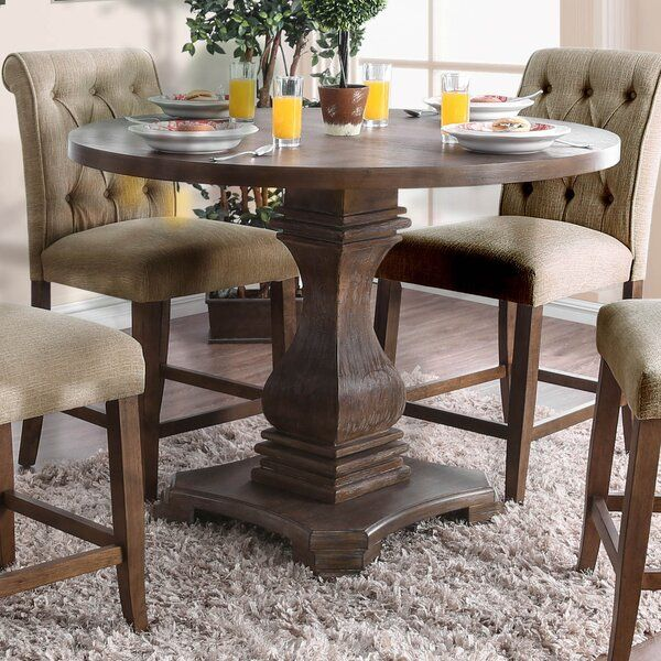 Fishponds Counter Height Solid Wood Dining Table Reviews Birch Lane Dining Table In Kitchen Dining Table Dining Room Table