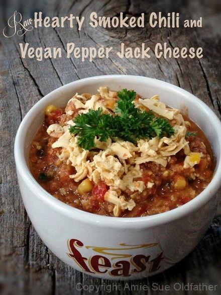 _ - Herzhafte-Smoked-Chili-und Vegan-Pfeffer-Jack-Käse    Hier findet auch alle Rezepte von Amie.Sue bei mir auf meiner Pinnwand, Amie-Sue 1 und Amie-Sue 2