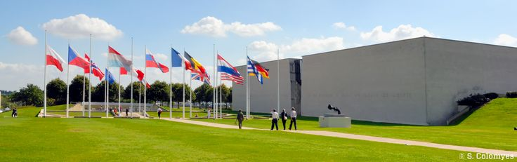 Le Mémorial de Caen - © S. Colomyes.  Le musée de référence sur la seconde guerre mondiale, la Bataille de Normandie et le débarquement.