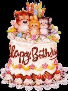 31 best happy birthday cake images on Pinterest Happy birthday
