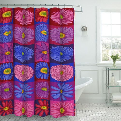 Found it at Wayfair - Oxford Fabric Weave Textured Shower Curtain Set