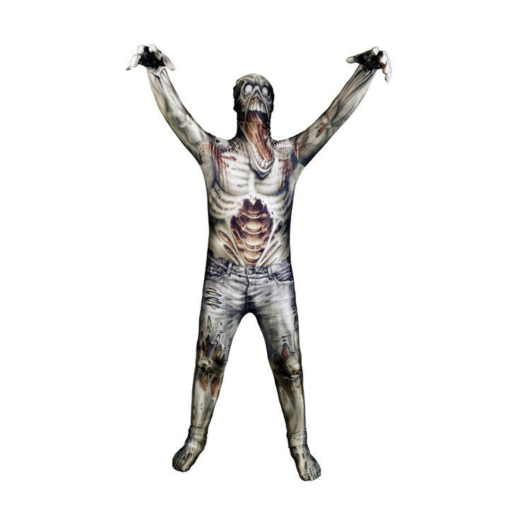 Costume seconde peau - Morpsuit : zombie enfant
