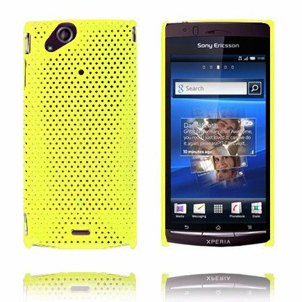 Atomic (Gul) Sony Ericsson Xperia Arc Cover